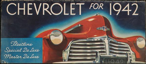 Old Car Brochures - Sold