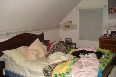 Jack's First Sleep-Over 12-30-11