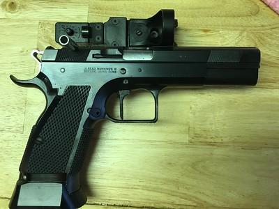 Tanfoglio Open Gun