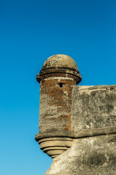 Castillo de San Marcos Sentry Tower