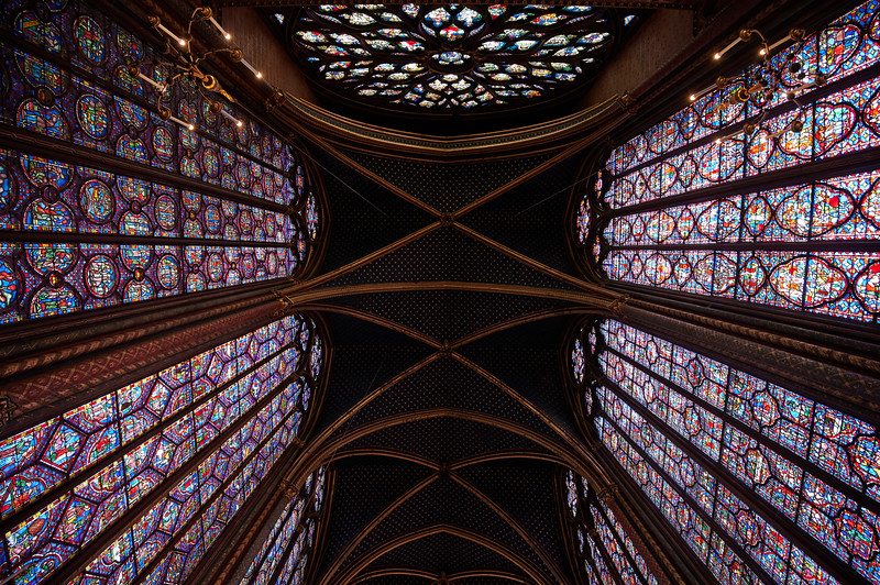 Ceiling of Sainte Chapelle