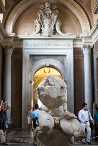 Belvedere torso, Vatican Museums