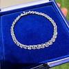 9.50ctw Round Brilliant Diamond Tennis Bracelet 28