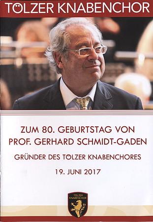 80 Jahre Gerhard Schmidt-Gaden