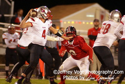 11-13-2015 Quince Orchard HS vs Blair HS Varsity Football, Playoffs Round 1, Photos by Jeffrey Vogt Photography with Lisa Levenbach
