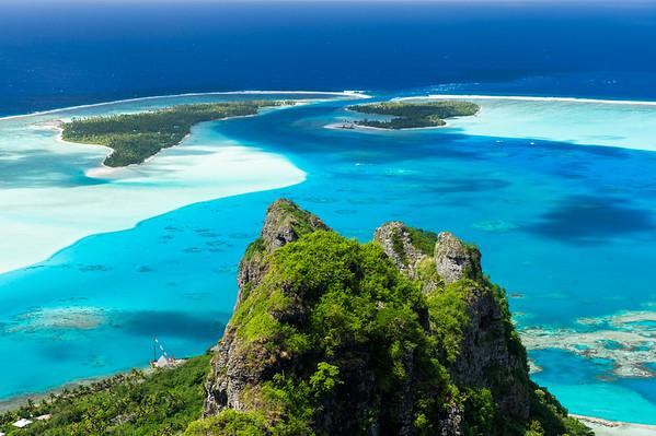 MAUPITI - The true gem of Leeward Islands !