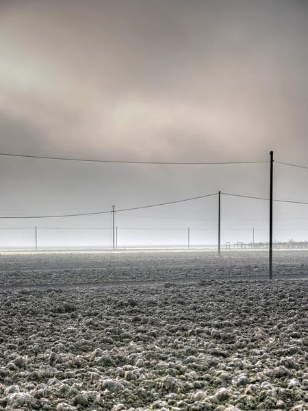 Morning Mist with Frost - La Grande, Nonantola, Modena, Italy - November 17, 2011