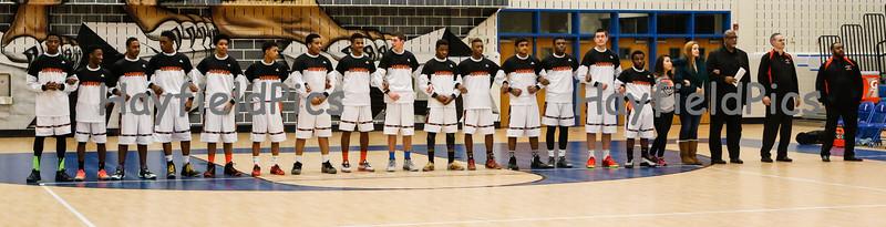Boys Varsity Basketball v Fairfax 2/24/15