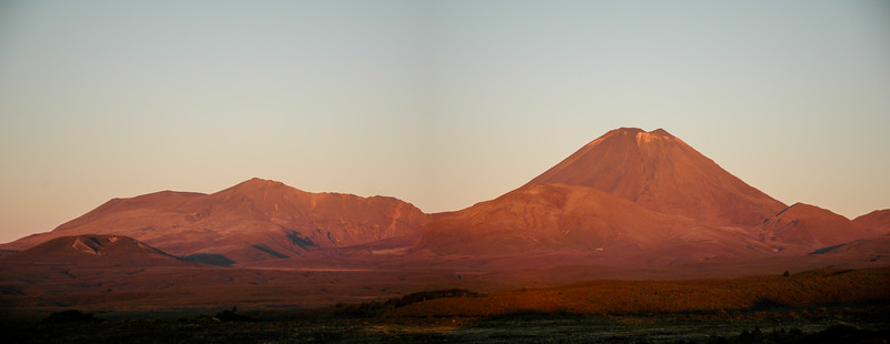 Tongariro Sunset