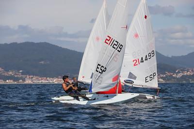 ⛵ 2ª Jornada del Campeonato Ibérico ILCA Trofeo Concello De Vigo
