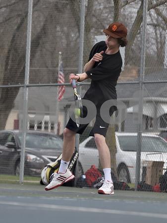Dowling Catholic @ Fort Dodge Boys Tennis 4/13/17