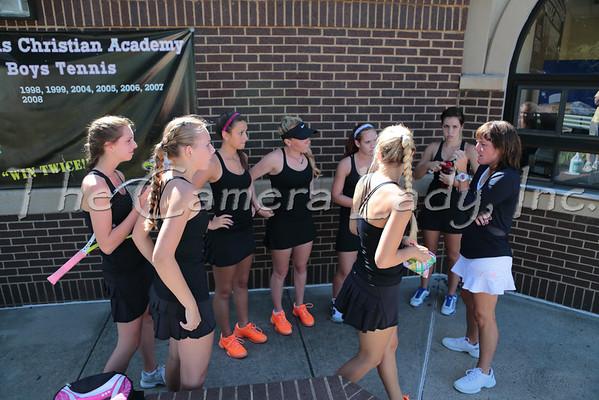 CHCA 2013 Girls Var Tennis vs Mason 09.03