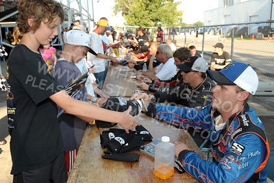 Autograph Session, Fans, Sponsors & Displays
