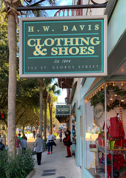H.W. Davis Clothing and Shoes