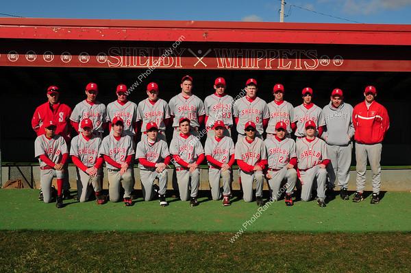 Shelby Whippet JV Baseball 2011