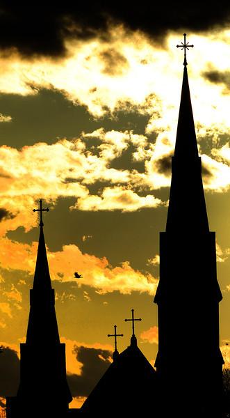 Divine sunset