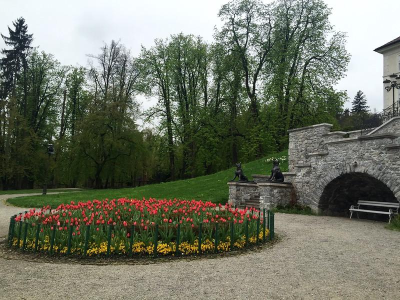 Tivoli City Park in Ljubljana