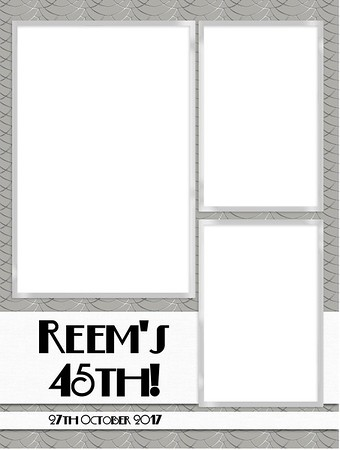 Reem's 45th 27.10.17