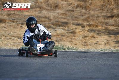 Go Quad Racer # 44 White