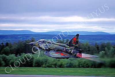 AFTERBURNER: Swedish Air Force SAAB Viggen Jet Fighter Afterburner Pictures