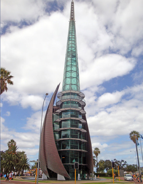The Bell Tower, on the city foreshore