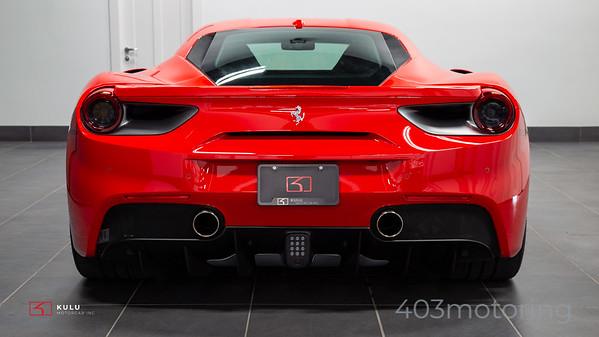 '19 488 GTB - Rosso Corsa