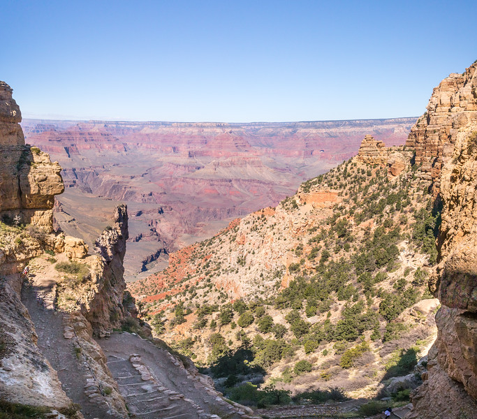 South Kaibab to Ooh Aah Point to Cedar ridge