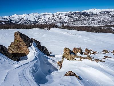 CDT-Rock Garden Snowshoe, March 2021