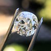 3.07ct Antique Cushion Cut Diamond GIA M VS2 10