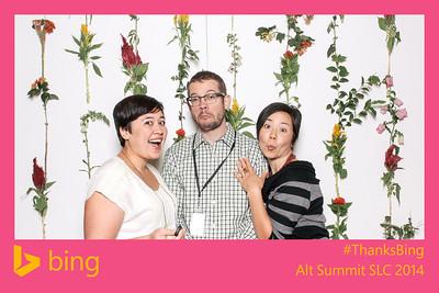 thanks bing @ alt summit day 1