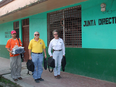 Donation to Indigenous People in Jinotega