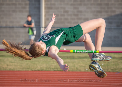 Falcon Relays High Jump - Girls