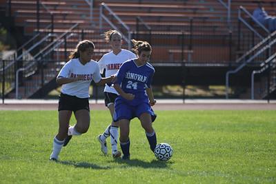 Mon Don Girls Soccer vs Barnegat High School Girls Soccer 9-23-08