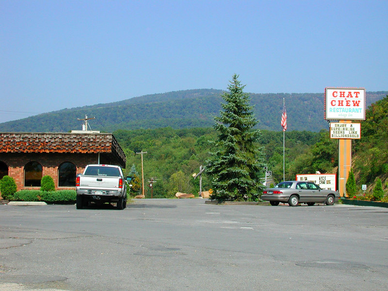 AAAP member Dave Smith mentions this place - the Chat n' Chew, naer the Maryland/West Va border.