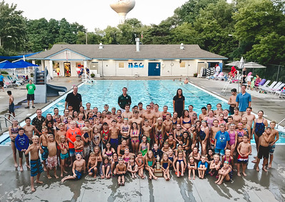 swim team extras