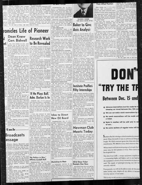 Daily Trojan, Vol. 34, No. 52, December 03, 1942