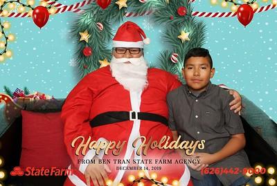 Ben Tran State Farm Agency - Photos with Santa