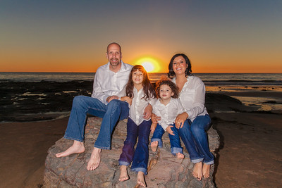 De'Angelo Family Pictures at Crystal Cove