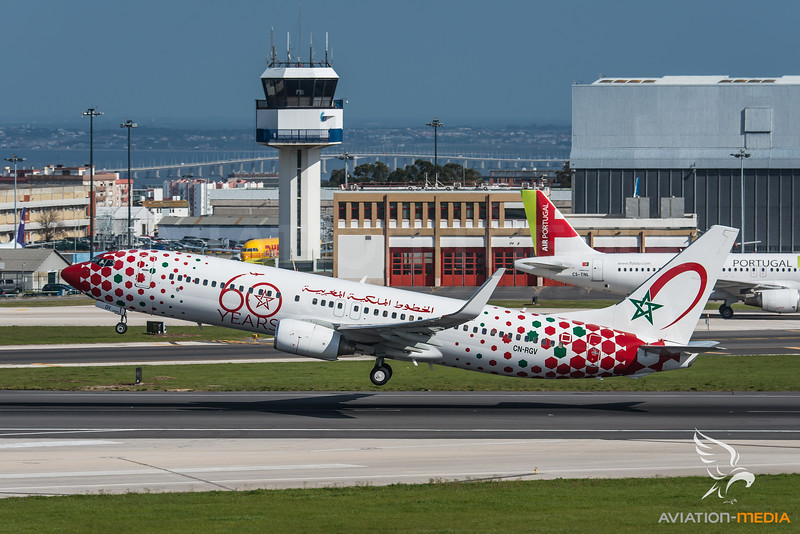 Royal Air Maroc / Boeing B737-85P(WL) / CN-RGV / 60th Anniversary Livery