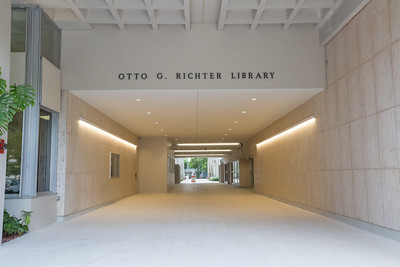 Richter Library Renovated Exterior - June 2016