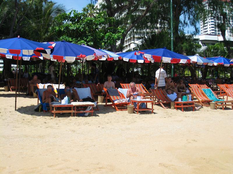 Pattaya - July 2008 Jomtien Beach, south of Pattaya