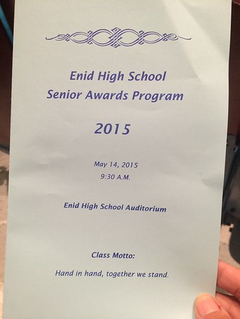 Senior Awards 2015