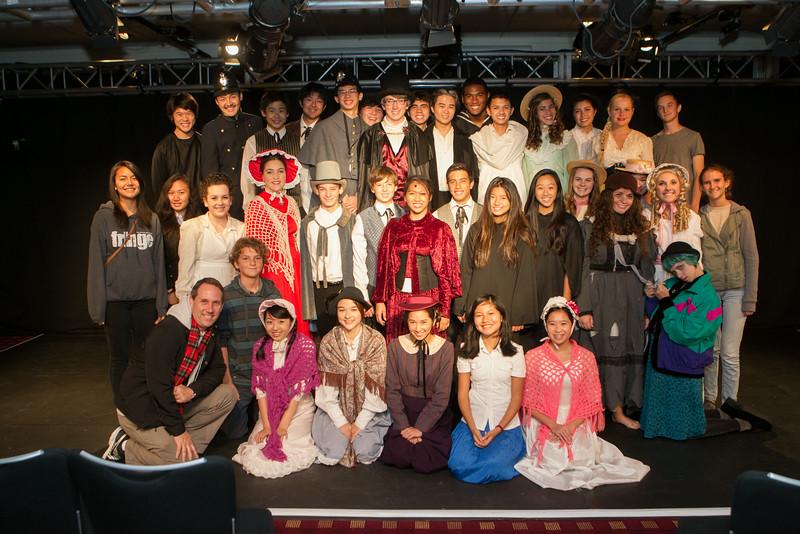 London/Edinburgh 2014 - 'Iolani Drama Fringe Festival