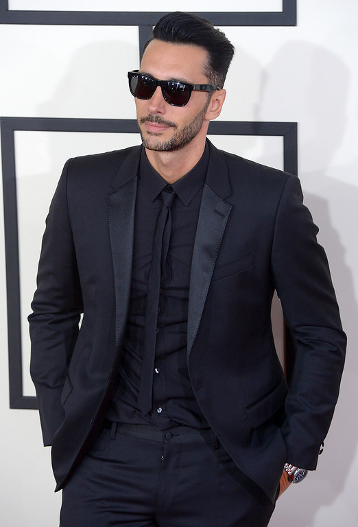 . Cedric Gervais arrives at the 56th Annual GRAMMY Awards at Staples Center in Los Angeles, California on Sunday January 26, 2014 (Photo by David Crane / Los Angeles Daily News)