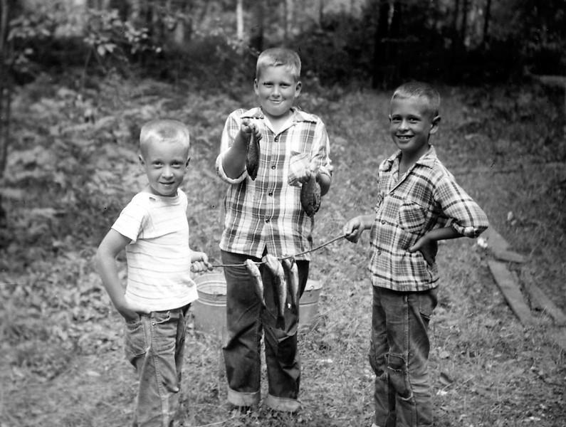 Grandsons 1953 | Bob, Ron and John