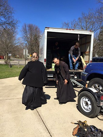 Helping Fr. Moses and His Family Move