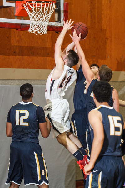RCS Varsity Boys' Basketball vs Bentley - Jan 20, 2015
