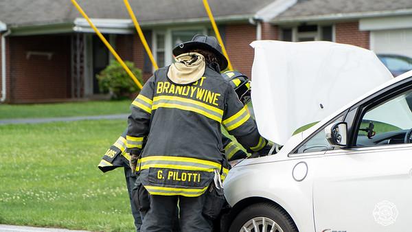 West Brandywine - Reeceville Rd & Hurley - Auto Accident