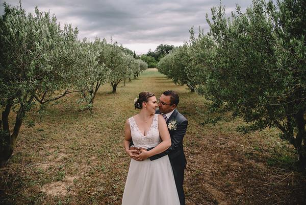 Mariage Cristina&Mikael Mas de l'Oratoire Orsan