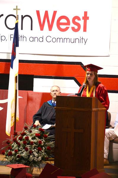 Lutheran West Graduation - Class of 2013  Valedictorian address by Stephanie Long